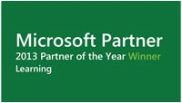 Microsoft Learning Partner of the Year 2013