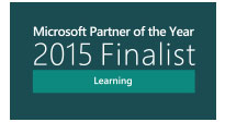 Microsoft Partner of the Year 2015 Finalist - Learning
