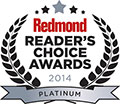 Redmond Reader's Choice Awards 2014 Platinum